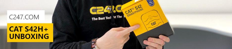 C247 | CAT S42H+ Unboxing Video