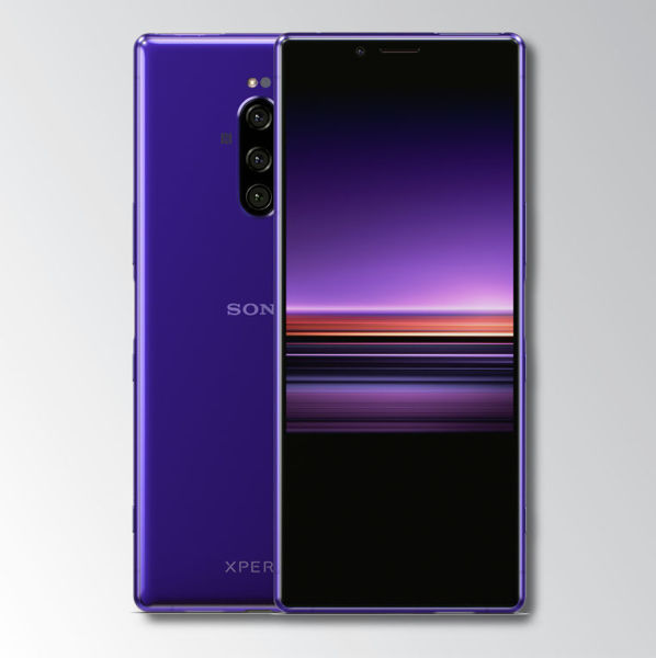 Sony Xperia 1 Purple Image 1