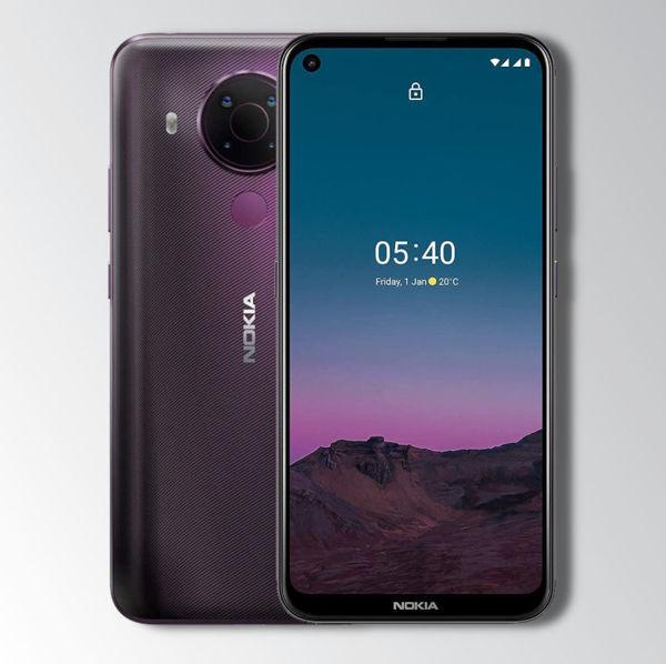 Nokia 5.4 Purple Image 1